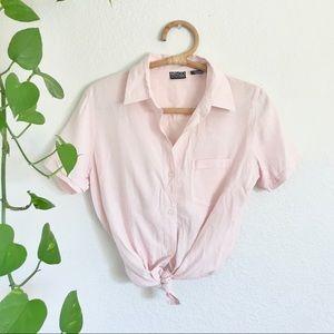 Vintage Silk Button Up Shirt